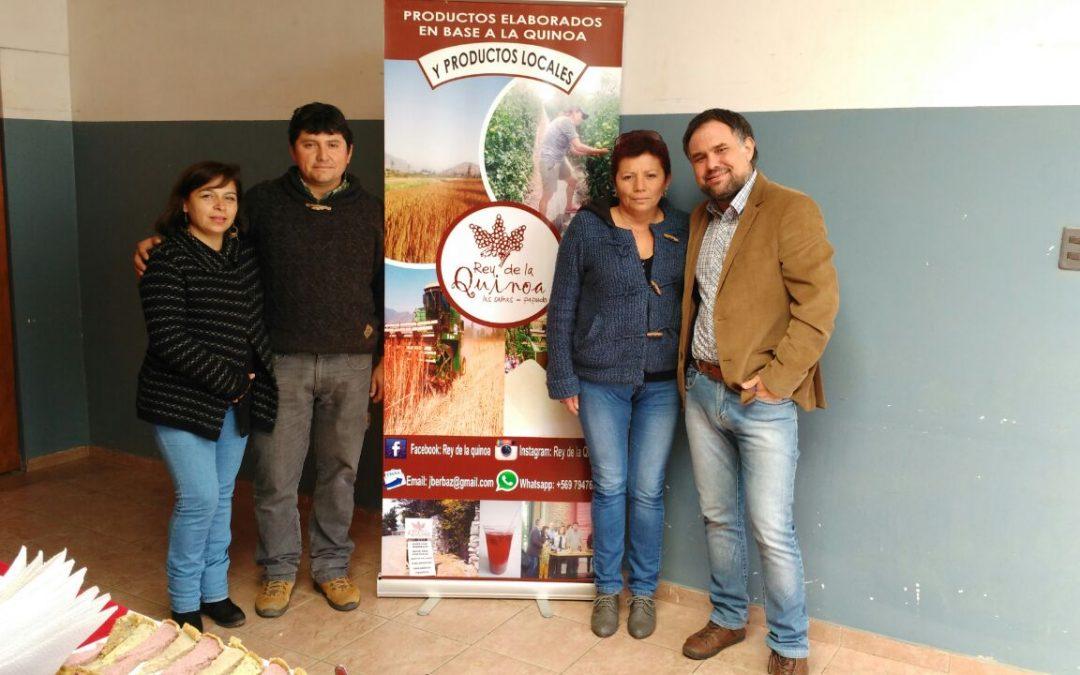 Nueva página del rey de la quinoa, pioneros en la producción de este super alimento en Chile.